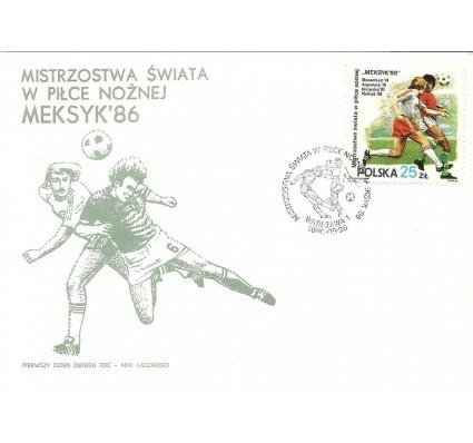 Znaczek Polska 1986 Mi 3028 FDC