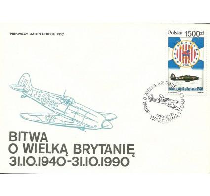 Znaczek Polska 1990 Mi 3301 FDC