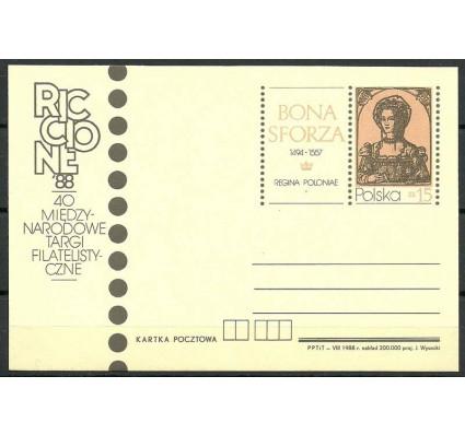 Znaczek Polska 1988 Mi 982 Całostka pocztowa
