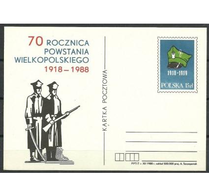 Znaczek Polska 1988 Mi 989 Całostka pocztowa
