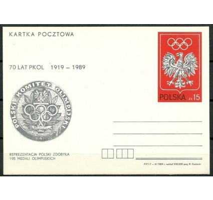 Znaczek Polska 1989 Mi 992 Całostka pocztowa