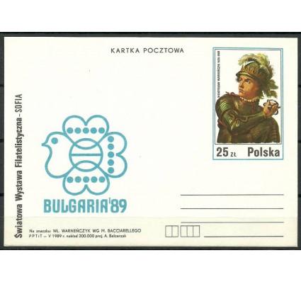 Znaczek Polska 1989 Mi 995 Całostka pocztowa