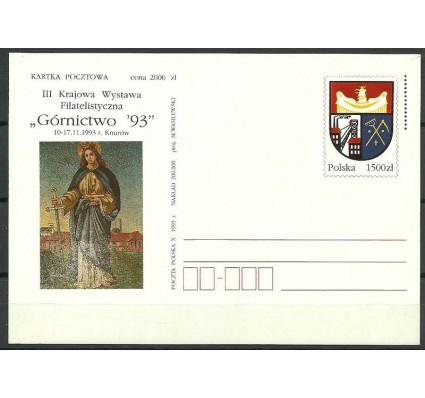 Znaczek Polska 1993 Mi 1060 Całostka pocztowa