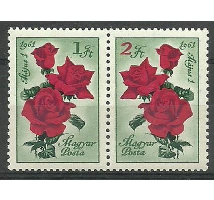 Znaczek Węgry 1961 Mi 1755-1756 Czyste **