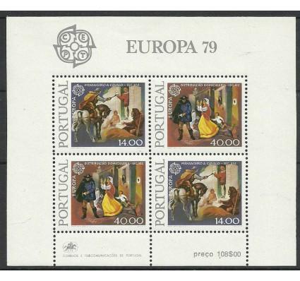 Znaczek Portugalia 1979 Mi bl 27 Czyste **