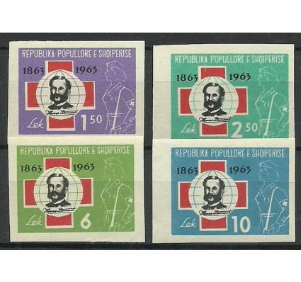 Znaczek Albania 1963 Mi 721-724 Czyste **