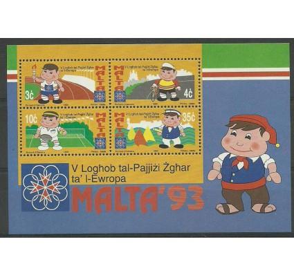 Znaczek Malta 1993 Mi bl 12 Czyste **