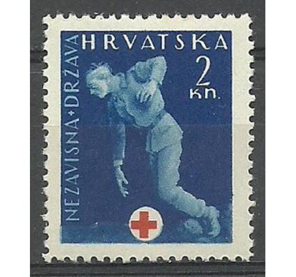 Znaczek Chorwacja 1942 Mi zwa 2 Z podlepką *