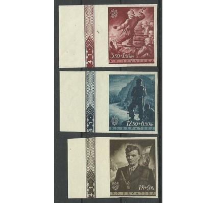 Znaczek Chorwacja 1944 Mi zf 158-160 Z podlepką *