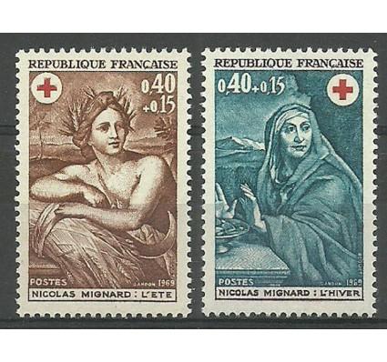 Znaczek Francja 1969 Mi 1692-1693 Czyste **