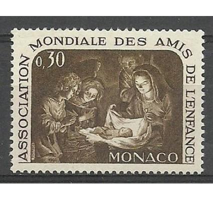Znaczek Monako 1966 Mi 823 Czyste **