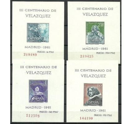 Znaczek Hiszpania 1961 Mi bl 15-18 Czyste **