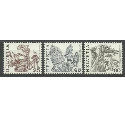 Znaczek Szwajcaria 1984 Mi 1280-1282 Czyste **