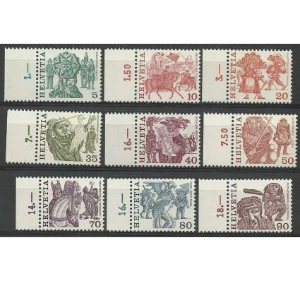 Znaczek Szwajcaria 1977 Mi 1100-1108 Czyste **