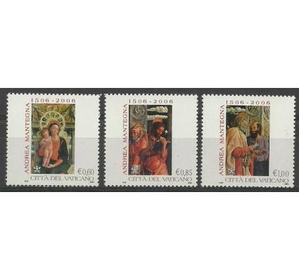 Znaczek Watykan 2006 Mi 1548-1550 Czyste **