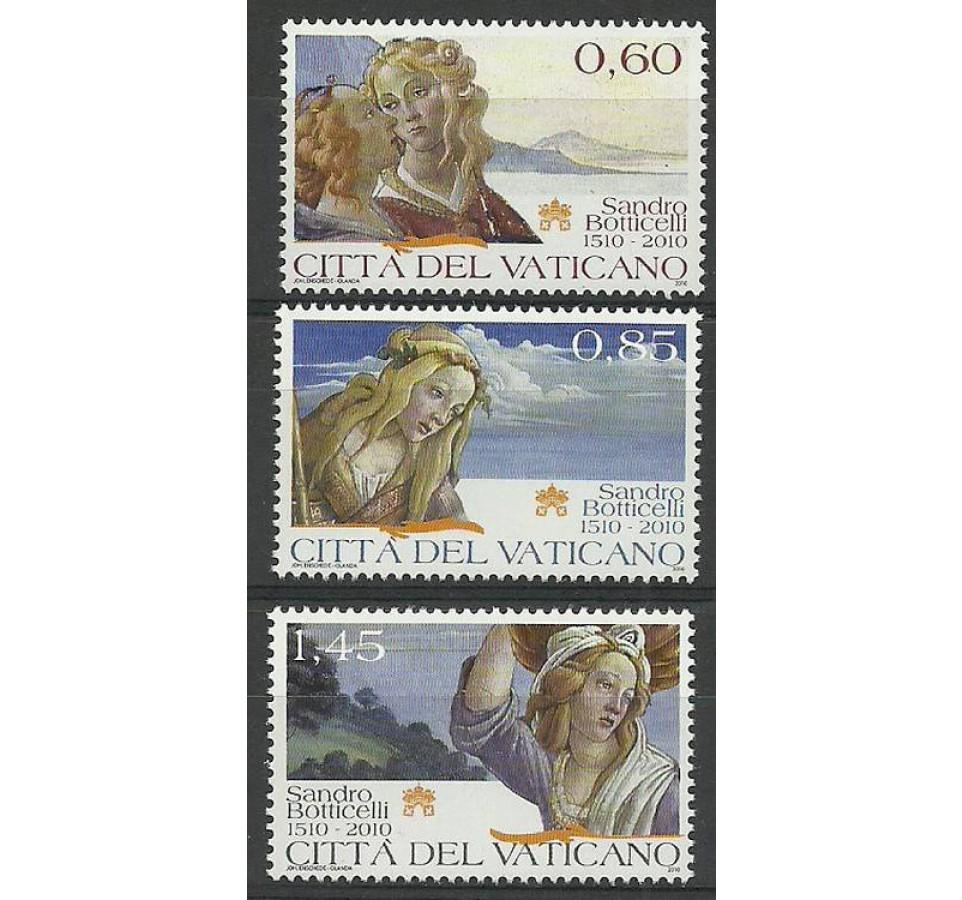 Watykan 2010 Mi 1661-1663 Czyste **