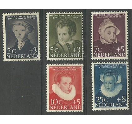 Znaczek Holandia 1956 Mi 685-689 Czyste **