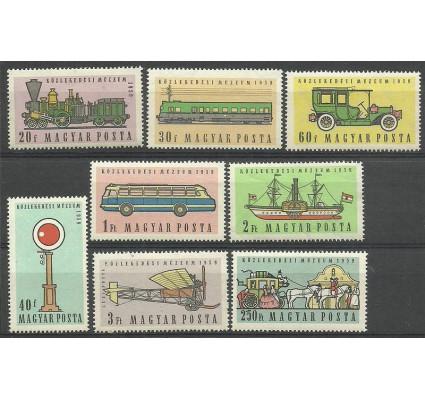 Znaczek Węgry 1959 Mi 1584-1591 Czyste **
