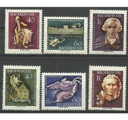 Znaczek Węgry 1959 Mi 1618-1623 Czyste **