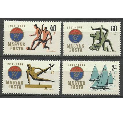 Znaczek Węgry 1961 Mi 1772-1775 Czyste **