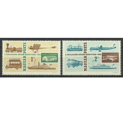 Znaczek Węgry 1966 Mi 2220-2221 Czyste **