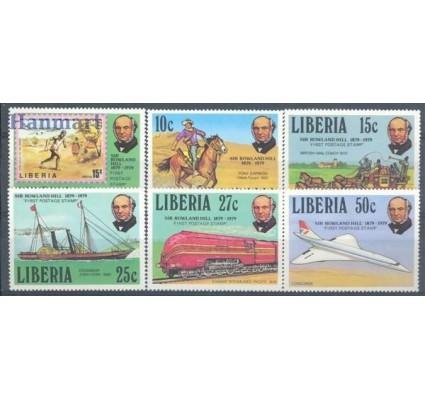 Znaczek Liberia 1979 Mi 1098-1103 Czyste **