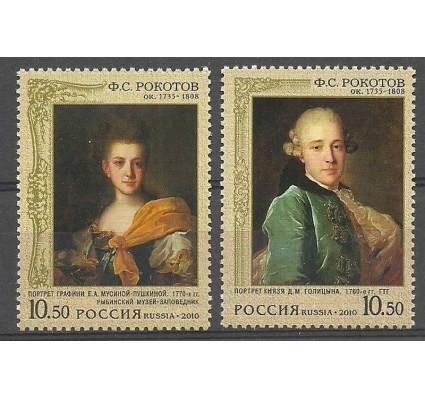 Znaczek Rosja 2010 Mi 1626-1627 Czyste **