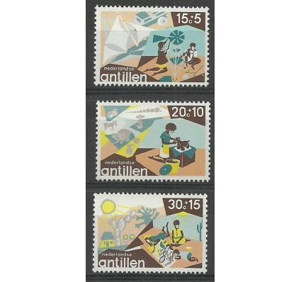 Znaczek Antyle Holenderskie 1975 Mi 307-309 Czyste **