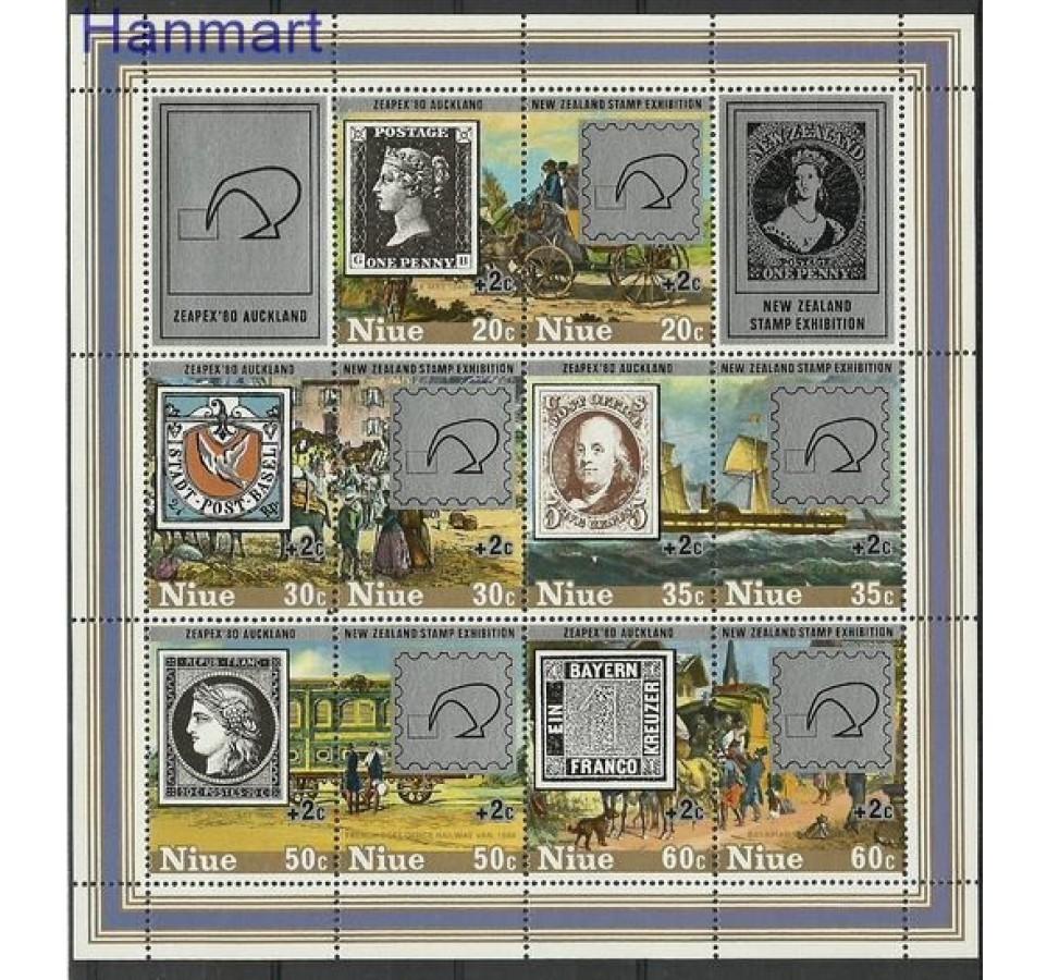 Niue 1980 Mi bl 36 Czyste **