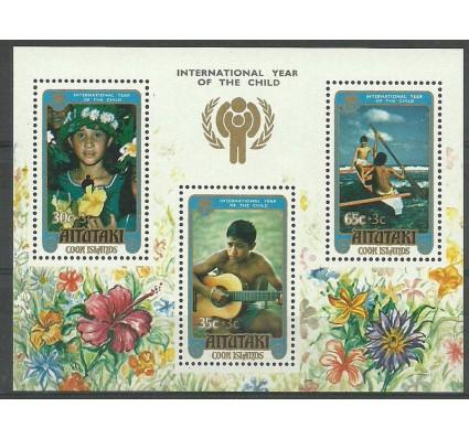 Znaczek Aitutaki 1979 Mi bl 26 Czyste **