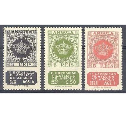 Znaczek Angola 1950 Mi 334-336 Czyste **