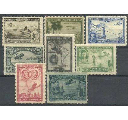 Znaczek Hiszpania 1930 Mi 554-561 Z podlepką *