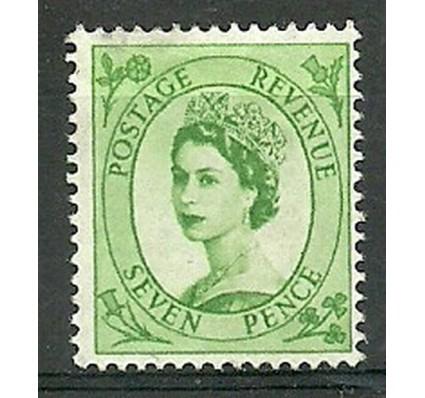 Znaczek Wielka Brytania 1954 Mi 266 Z podlepką *