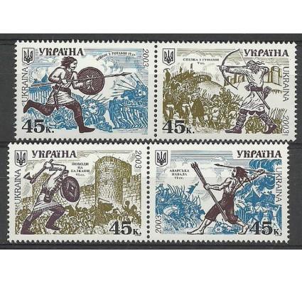 Znaczek Ukraina 2003 Mi 552-555 Czyste **