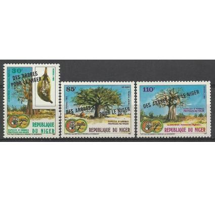 Znaczek Niger 1985 Mi 959-961 Czyste **
