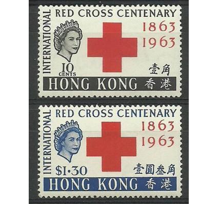 Znaczek Hong Kong 1963 Mi 212-213 Czyste **