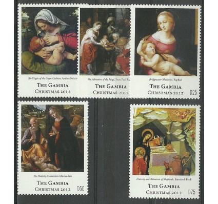 Znaczek Gambia 2012 Mi 6663-6667 Czyste **