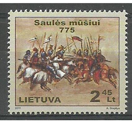 Znaczek Litwa 2011 Mi 1080 Czyste **