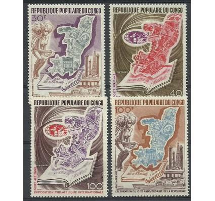 Znaczek Kongo 1973 Mi 386-389 Czyste **