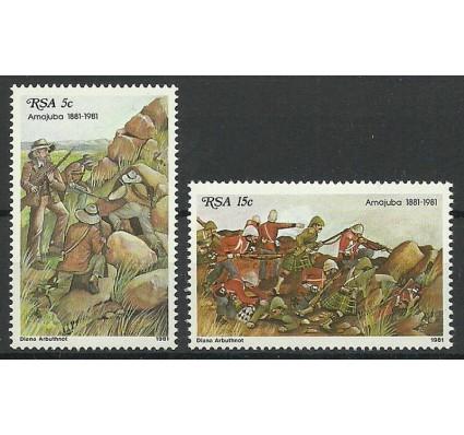 Znaczek Republika Południowej Afryki 1981 Mi 581-582 Czyste **