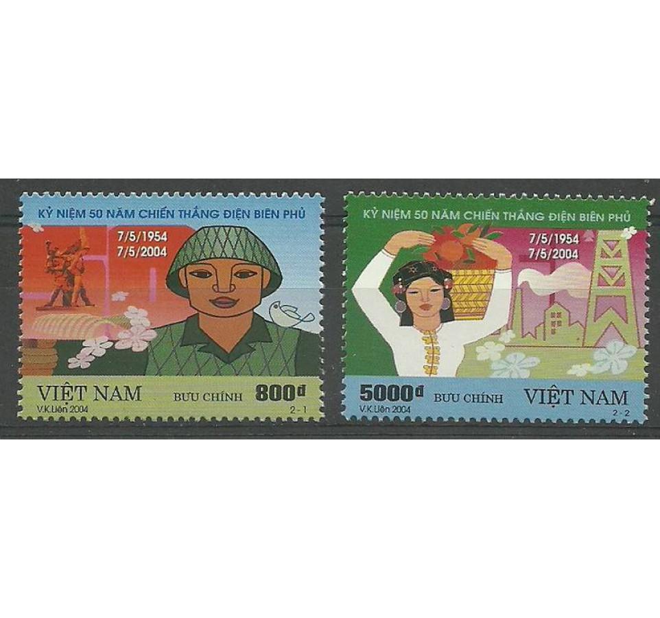 Wietnam 2004 Mi 3328-3329 Czyste **