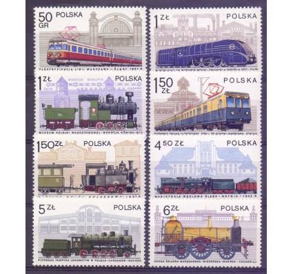 Znaczek Polska 1978 Mi 2543-2550 Fi 2396-2403 Czyste **