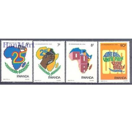 Znaczek Rwanda 1988 Mi 1398-1401 Czyste **