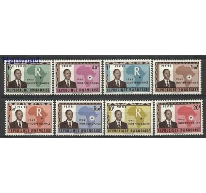 Znaczek Rwanda 1962 Mi 1-8 Czyste**