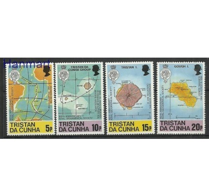 Znaczek Tristan da Cunha 1980 Mi 293-296 Czyste **