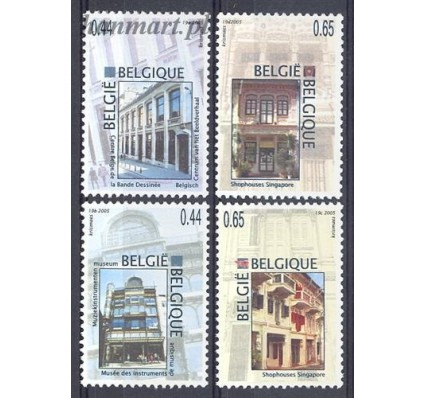Belgia 2005 Mi 3474-3477 Czyste **