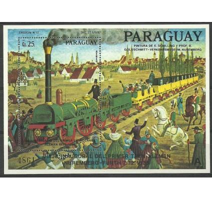 Znaczek Paragwaj 1986 Mi bl 436 Czyste **