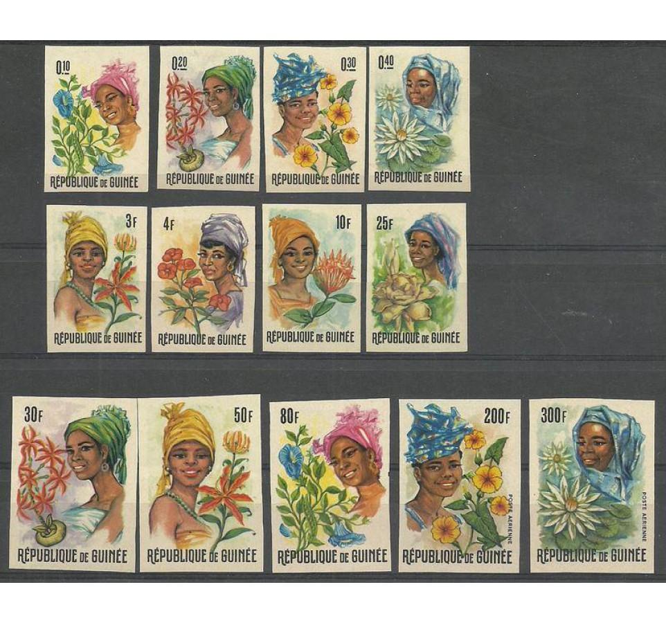 Gwinea 1966 Mi 368-380B Czyste **