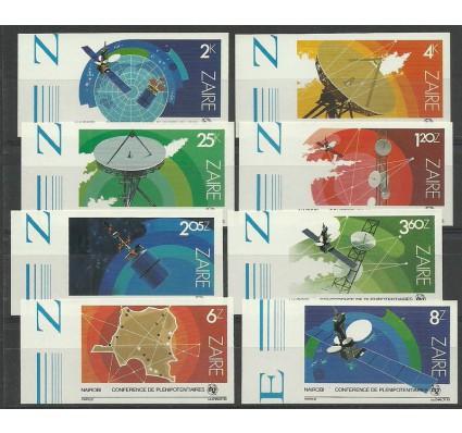 Znaczek Kongo Kinszasa / Zair 1983 Mi 822-829B Czyste **