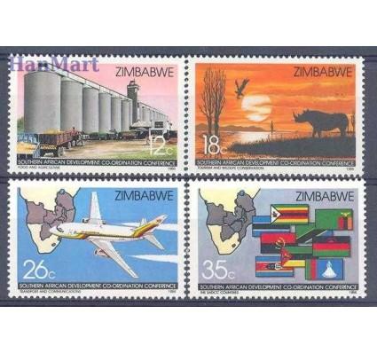 Znaczek Zimbabwe 1986 Mi 340-343 Czyste **